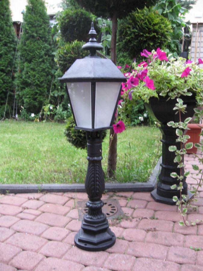 lampy ogrodowe w starym stylu